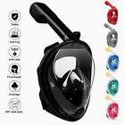 Full Face Snorkel Mask Scuba Diving Swimming Free Breath Underwater Anti Fog Dry