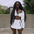 Women Lady Reflective Buckles Festival Bralette Bralet Clothes Camisole Tops Lot
