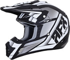 AFX FX-17 Force Helmet Black/White MX Enduro Protection All Sizes
