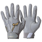 Brand NEW Original MENs MLB Mizuno Pro Baseball BATTING Gloves Gray / Gold on Ebay