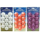 OnCourse Golf Practice Perforated Wiffle Golf Balls White Orange Pink Plastic