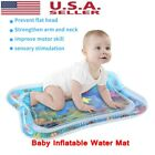 Inflatable Baby Water Mat Fun Activity Play Center Cushion For Children Infants