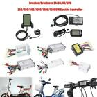 24-48V eBike Speed Controller LCD Display Panel Kit for Electric Scooter Bicycle