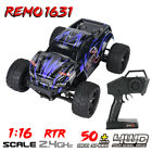 REMO HOBBY 1631 1:16 4WD RC Brushed Off-Road Monster Truck SMAX RC Remote - RTR