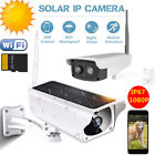 Outdoor Solar Surveillance Camera Power WiFi IP Camera 1080P Wireless Waterproof