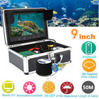 "9"" TFT LCD 1000TVL HD Underwater Camera Fish Finder 15/30M/50M Cable Waterproof"
