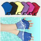 Diving Gloves Webbed Silicone Girdles Swimming Hand Fins Flippers Palm Finger