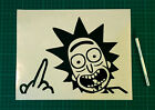 RICK AND MORTY STICKERS STICKY DECALS CAR VAN BUMPER LAPTOP