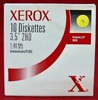 "Genuine New Xerox Diskette 3.5"" 2HD PC Formatted 1.44MB 10-Pack"