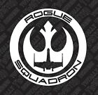 Star Wars Rogue Squadron car truck vinyl decal sticker Rebel Empire Luke X Wing $3.99 USD on eBay