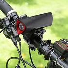 USB Rechargeable Unique Bicycle Front Head Light LED Cycling Bright Bike Lamp