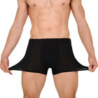 Big and Tall Men Bamboo Fiber Underwear Shorts U-Design Underpants XL-5XL Surpri