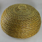 Food Cover Dome Wicker Cake Vintage Picnic Wooden Rattan Woven