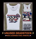 VTG 90s Evel Knievel Harley Davidson Motorcycle Dragster NHRA Tank Top T-shirt $34.2 USD on eBay