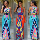 Summer PlusSize Women Boho Long Maxi Dress Evening Cocktail Party Beach Sundress