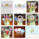 Happy Birthday Cake Topper Party Supply Event Decoration Kids Baby Shower DIY