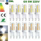 G9 LED Bulb 5W Capsule light 220V SMD2835 Replace halogen bulbs Energy Saving