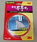 New 3M Scotch Clear Weatherstrip Draught Excluder Seal Door Window