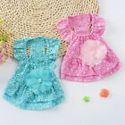 Small Dog Princess Dress Spring Summer Pet Puppy Clothes Skirt for teddy US