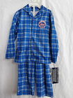 New York Mets 2 Pc Flannel Pajamas 100% Polyester Flame Resistant NWT on Ebay
