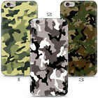 Camoflage Pattern Army Gift Phone Case Cover For iPhone 4 5 6 7 8 11 X Xr Xs