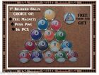 Billiard Pool Balls Push Pins Message Board Pin Thumb Tack Billiard Ball Magnets $19.95 USD on eBay