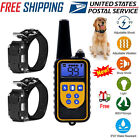 885 Yards Waterproof Dog Shock Training Collar Electronic Remote For 1/2/3 Dog