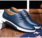 Vogue Mens Lace Up Ventilate Loafers Casual Driving Shoes Flat Oxfords Sneakers