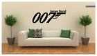 "James Bond 007 Logo Vinyl Wall Sticker Decal 36""x14"" Choose your Color $22.95 USD on eBay"