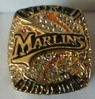 2003 FLORIDA MARLINS World Series Championship Ring 18k GOLD PLATED Blem!  *USA*