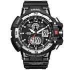 SMAEL Men's Multifuntional Sports Watches Dual Display LED Digital Wristwatches image