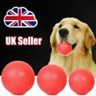 Indestructible Solid Rubber Ball Pet cat Dog Training Chews Play Fetch Bite CR