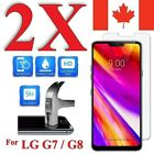 Premium Screen Protector Cover for LG G7 ThinQ / G7 One & LG G8 ThinQ (2 PACK)