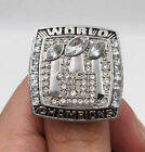 2007 NEW YORK GIANTS SUPER BOWL Championship Ring 18k HEAVY GOLD PLATED **USA**