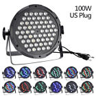 100W 120W 160W RGBW LED Stage PAR Light 6CH Disco Party Club Wedding DJ Show