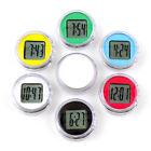 Waterproof Mini Motorcycle Bike Sticky Digital Display Clock Watch Home Decor BF