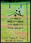 WHAT I LOVE MOST ABOUT MY HOME PERSONALIZED NAME PLEXIGLASS GARDEN FLAG SIGN