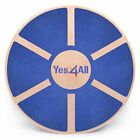 Yes4All Wooden Wobble Balance Board – Exercise Balance Stability Trainer image