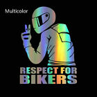 Waterproof Motorcycle Styling Auto Decal Reflective  Car Sticker 3D Respect