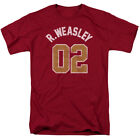 Harry Potter Weasley Jersey Short Sleeve T-Shirt Licensed Graphic SM-5X image
