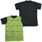 Adventure Time Green Fields Short Sleeve T-Shirt Licensed Graphic SM-3X