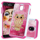 Opals Owl hybrid shock proof hard plastic anti-fall protective back Case Cover