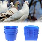 10X Water Glass Hanging Cage Food Cups Pigeon Poultry Feeding Watering Supplies
