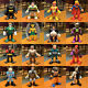 Lots of IMAGINEXT DC Super Friends Power Rangers Blind bag Figures BatMan Gift photo