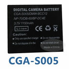 CGA-S005E -charger Battery for Panasonic Lumix DMC-FX180 DMC-LX1 LX2 LX3 FS1 FS2