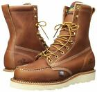 Thorogood American Heritage USA Made Boots 814-4201 Wedge Sole 8in Tall Moc Toe