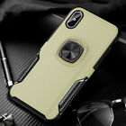 For iPhone 6s 7 Plus 8 XS Max XR Case Magnetic Hybrid TPU Heavy Duty Armor Cover