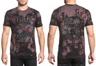 AFFLICTION Mens T-Shirt VENOMOUS WAYS Rock Roll Guitar Music Concert Biker $58 image