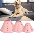 Pet Cute Comfy Cone Stress-Free Recovery Collar for Dogs & Cats Bite-Resistant
