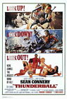 65233 Thunderball Movie Sean Connery laudine Auger Wall Poster Print AU $79.96 AUD on eBay